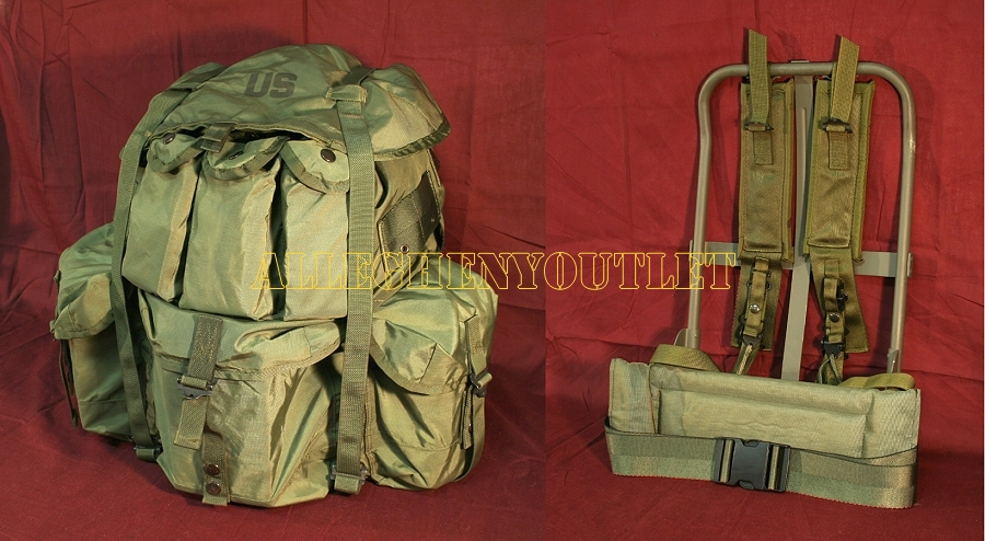 05c5175ed3a6 Anybody try making army surplus bags into panniers  - Bike Forums
