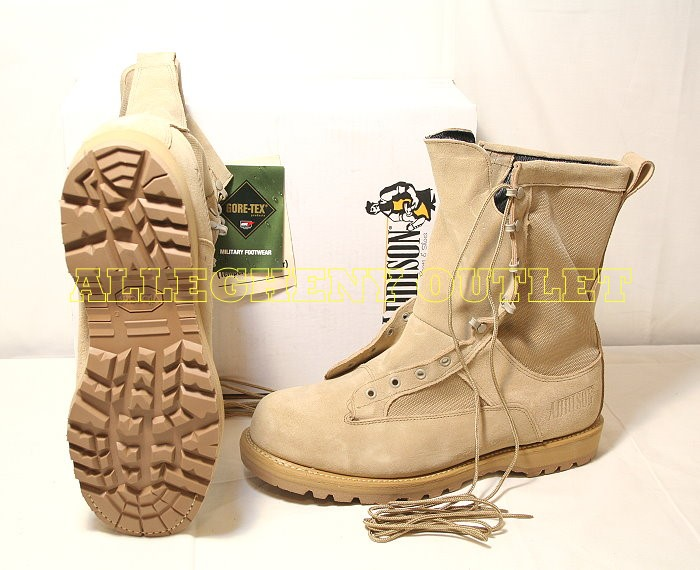 USGI Military Army GORETEX ACU Desert Tan ICB COMBAT BOOTS NEW IN ...