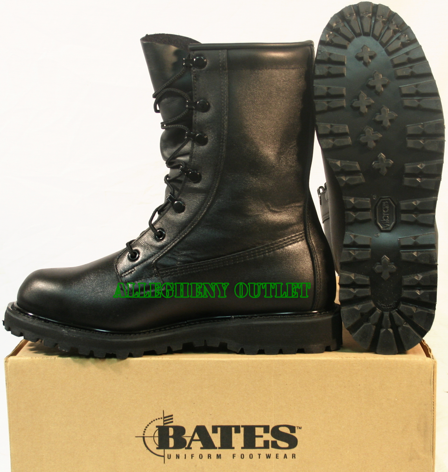Bates WATERPROOF Military LEATHER Goretex COMBAT BOOTS w/ BOOTIES ...