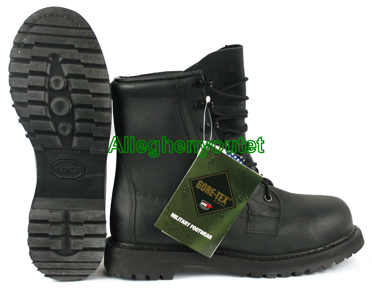 Usgi Military Rocky Safety Steel Toe Icw Black Goretex