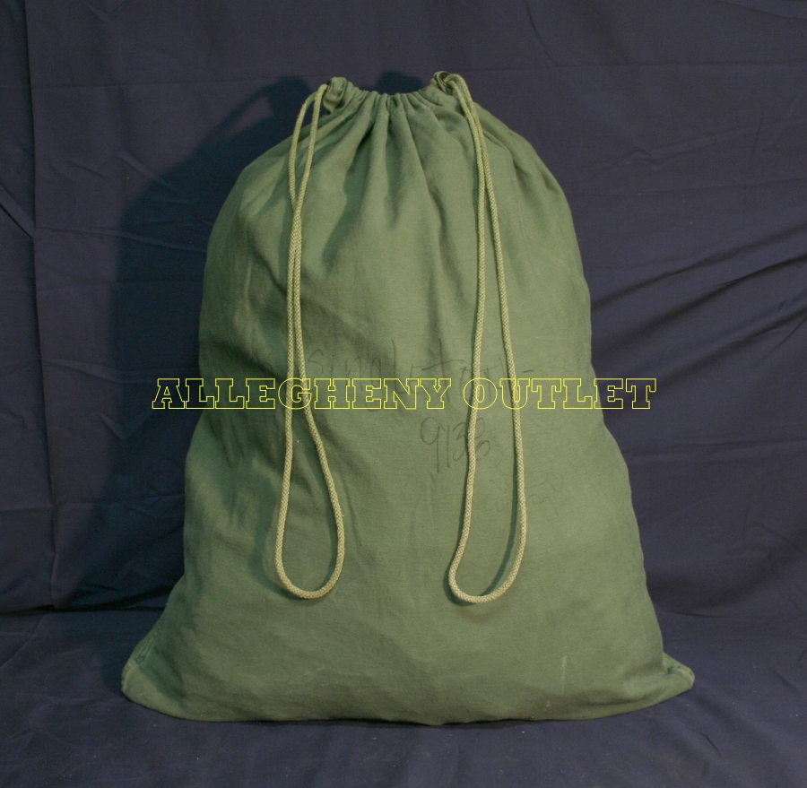 Usgi Barracks Laundry Bag Cotton Duffle Storage Us